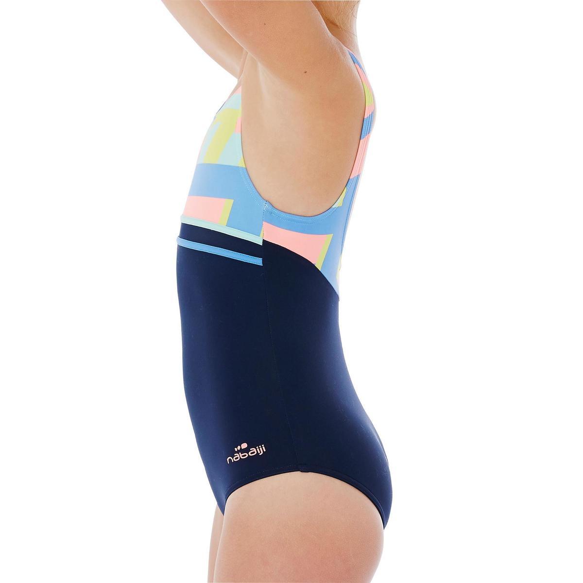 Bild 3 von Badeanzug Loran Mädchen blau