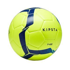Fußball F100 Hybrid Gr. 4 gelb