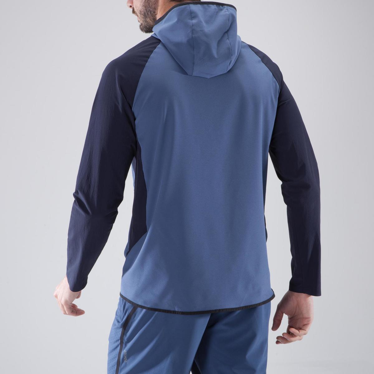 Bild 4 von Trainingsjacke Cardio 900 Herren Fitness blau/schwarz