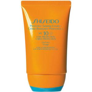 Shiseido Sun Care Protective Tanning Cream N SPF 10, 50 ml