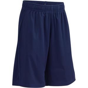 Sporthose kurz S500 Gym Kinder marineblau