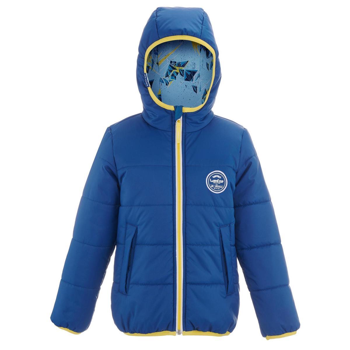 Bild 4 von Skijacke Piste100 warm wendbar Kleinkinder blau