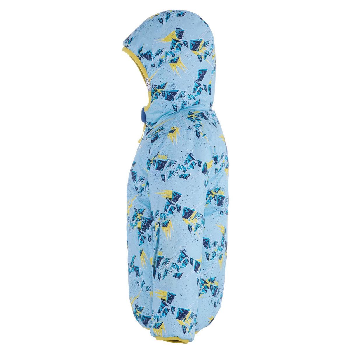 Bild 5 von Skijacke Piste100 warm wendbar Kleinkinder blau