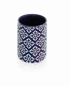 "Möve Zahnbürstenhalter, Keramik ""Capri"", blue"