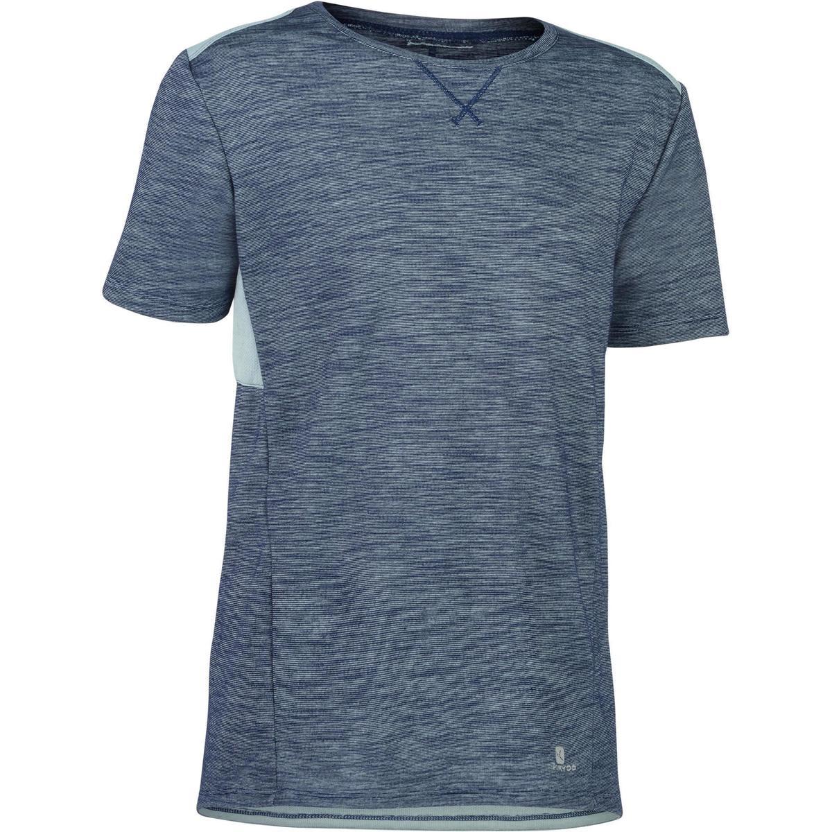 Bild 1 von T-Shirt Kurzarm 500 Gym Kinder grau/blau