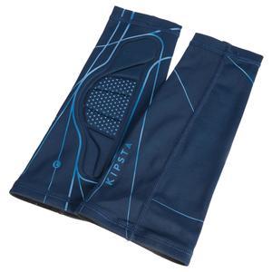 Unterarm-Schoner Volleyball Manschetten V100 blau