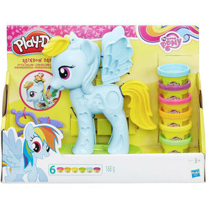 Play-Doh My little Pony Rainbow Dash Mähnenspass