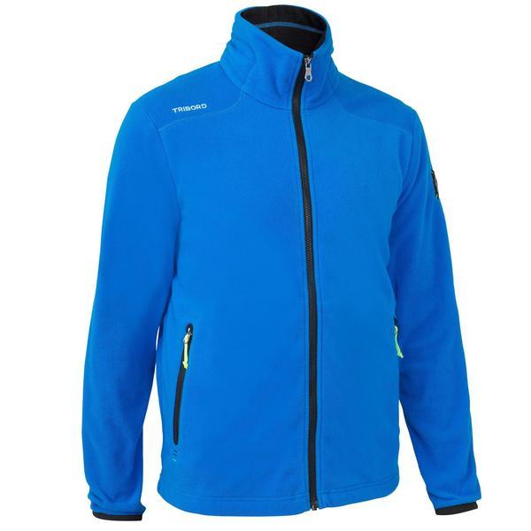 2e07e98178c8a4 Fleecejacke Segeln Regatta Race Herren blau von Decathlon ansehen ...