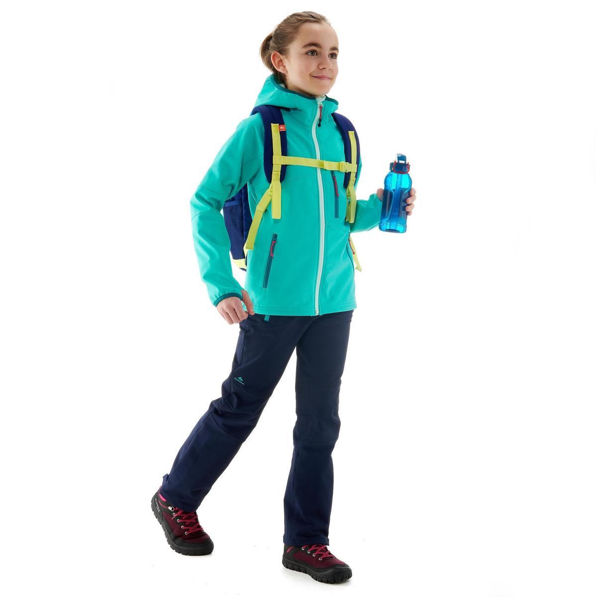Bild 2 von Softshelljacke MH900 Kinder blau