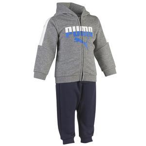 Trainingsanzug Baby grau/blau