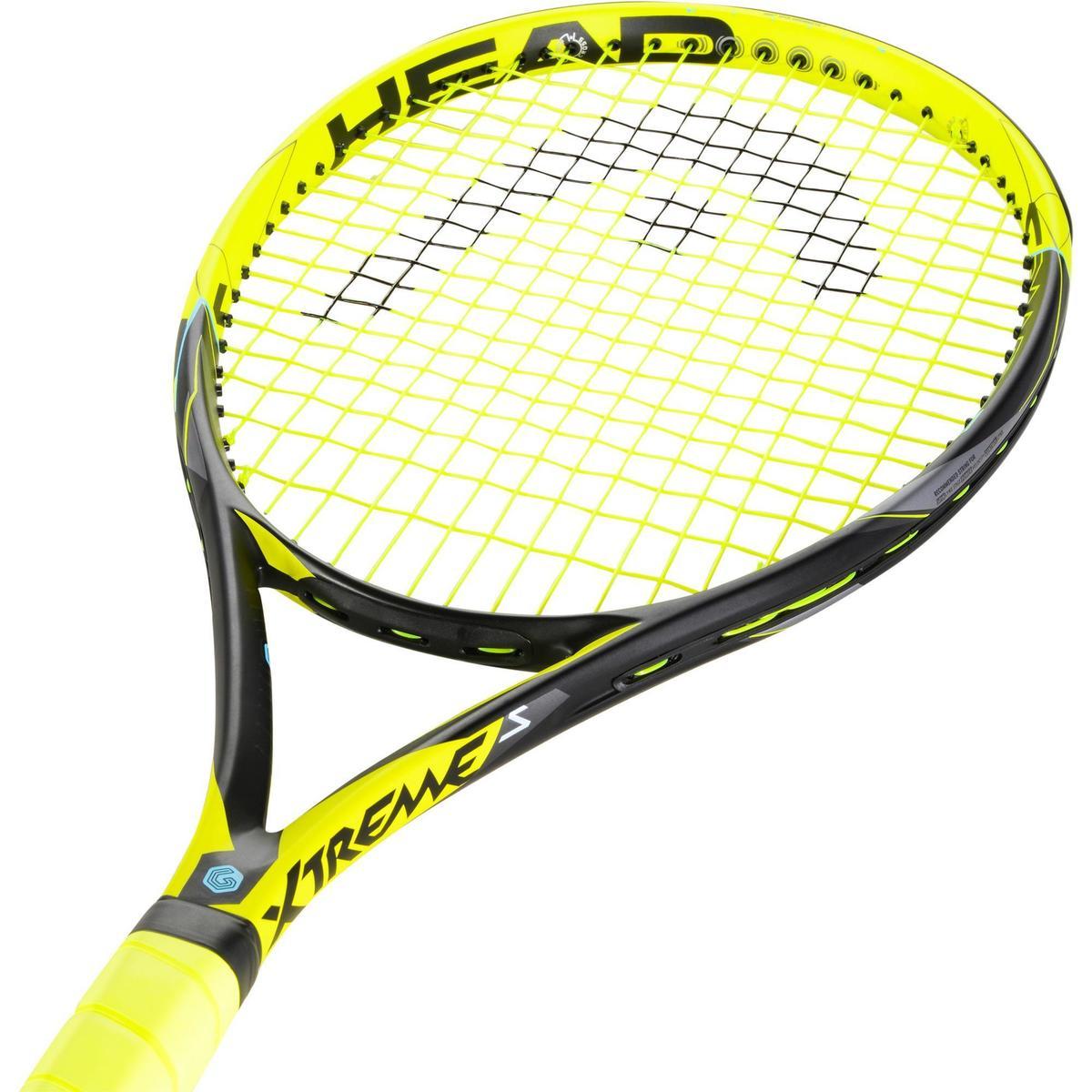 Bild 2 von Tennisschläger Extrem S besaitet schwarz/gelb