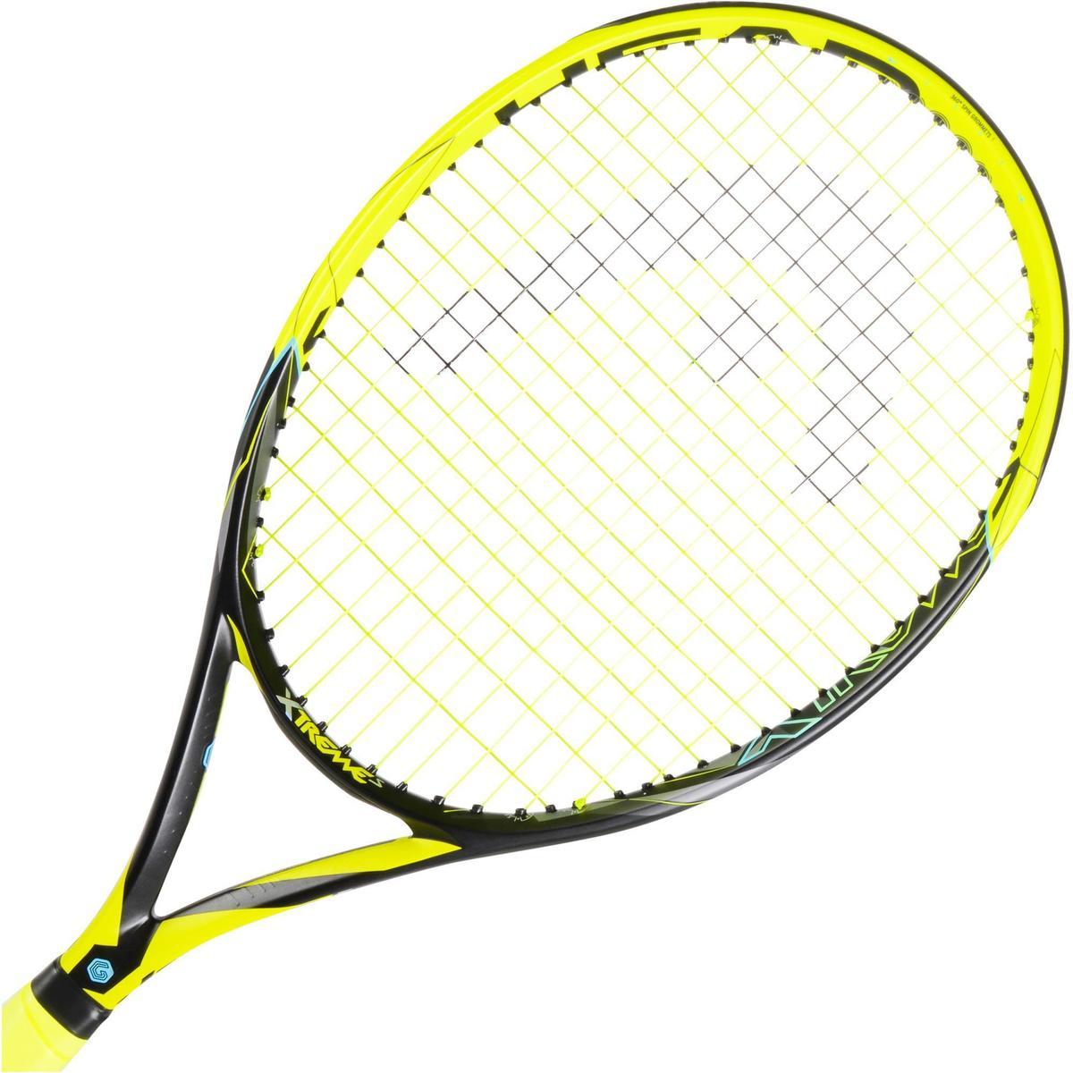 Bild 4 von Tennisschläger Extrem S besaitet schwarz/gelb