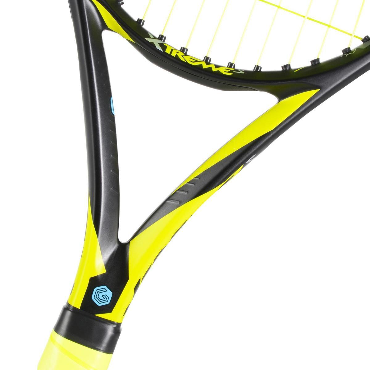 Bild 5 von Tennisschläger Extrem S besaitet schwarz/gelb