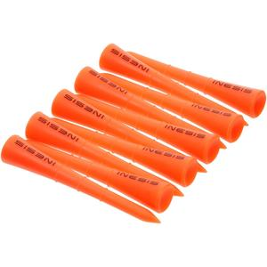 Golf Tees Kunststoff 70 mm 10 Stück orange