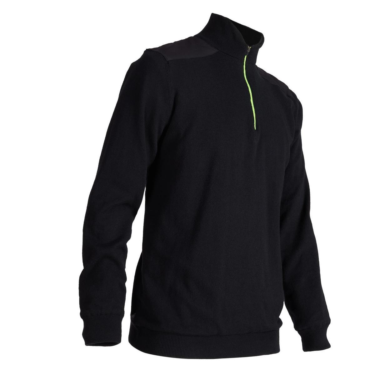 Bild 1 von Golf Pullover winddicht warm Herren schwarz