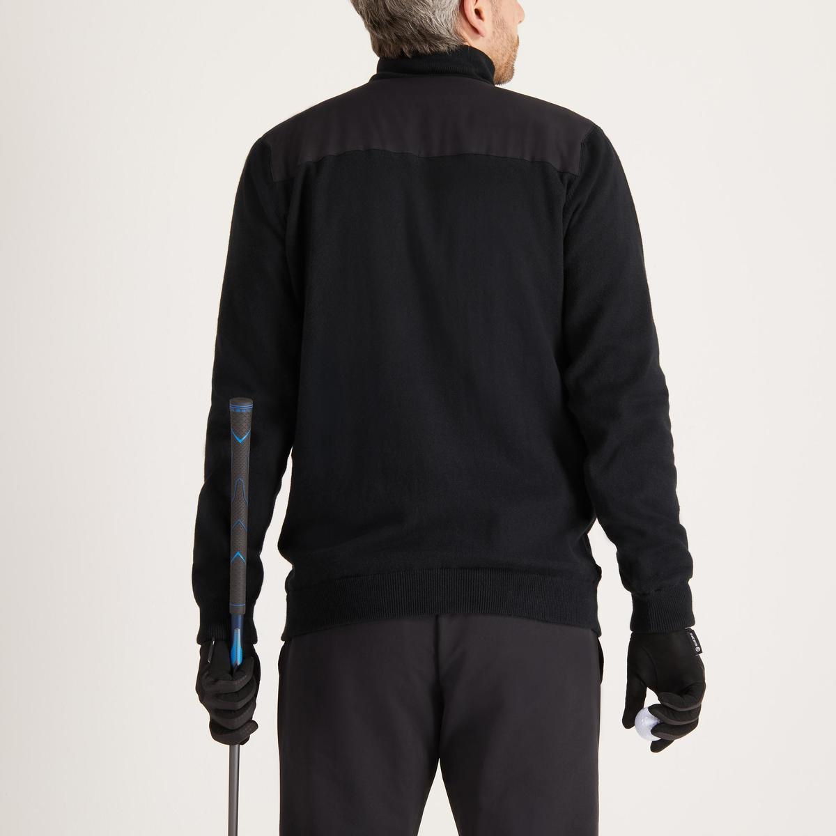 Bild 4 von Golf Pullover winddicht warm Herren schwarz