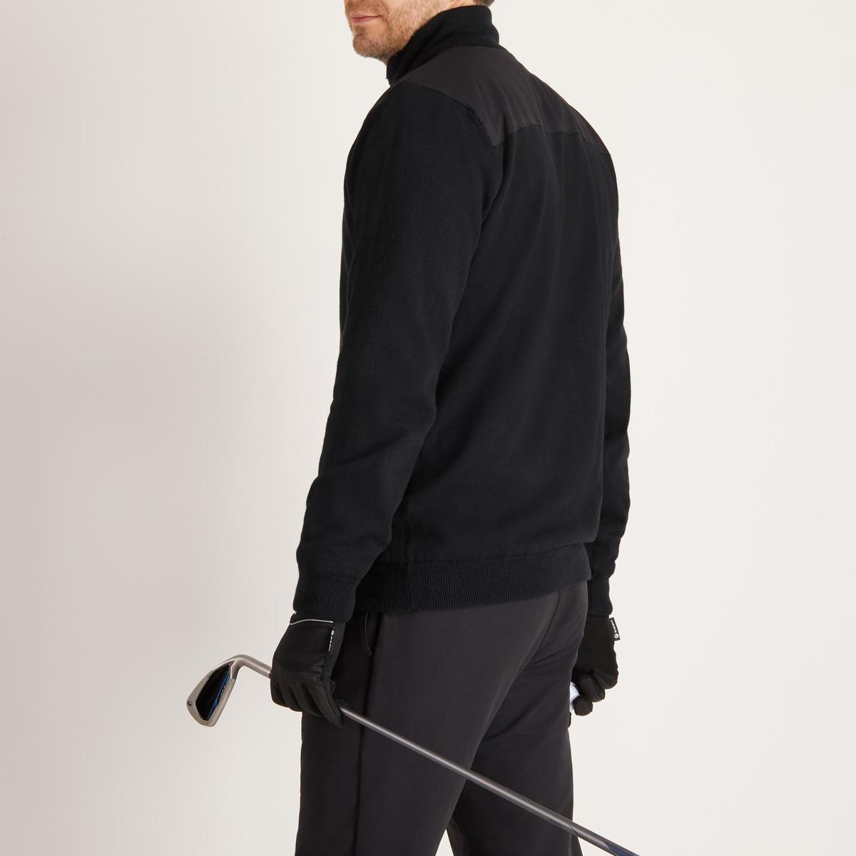 Bild 5 von Golf Pullover winddicht warm Herren schwarz