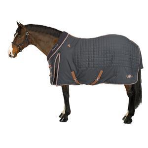 Stalldecke ST400 Pony/Pferd dunkelgrau