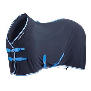 Stalldecke Polar 500 für Pony und Pferd marineblau