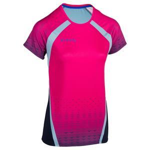 Volleyballtrikot V500 Damen rosa