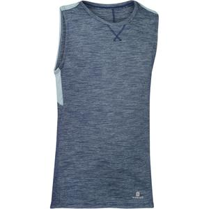Tank-Shirt 500 Gym Kinder grau