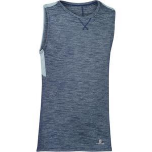 Tank-Shirt 500 Gym Kinder grau