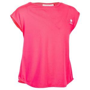 T-Shirt 500 Kinder rosa