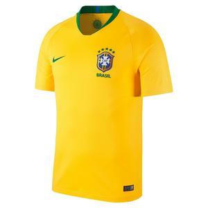 Fußballtrikot Brasilien Heim Replica Erwachsene gelb/grün