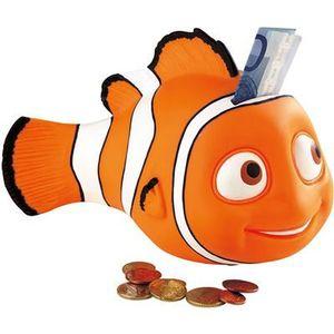 Bullyland Spielzeug Figur - Comic World - Disney Filme - Findet Nemo - Spardose Nemo