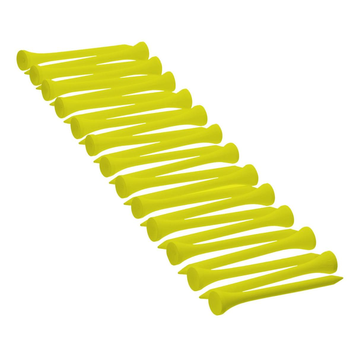 Bild 1 von Golf Holz-Tees 69 mm 25 Stück gelb