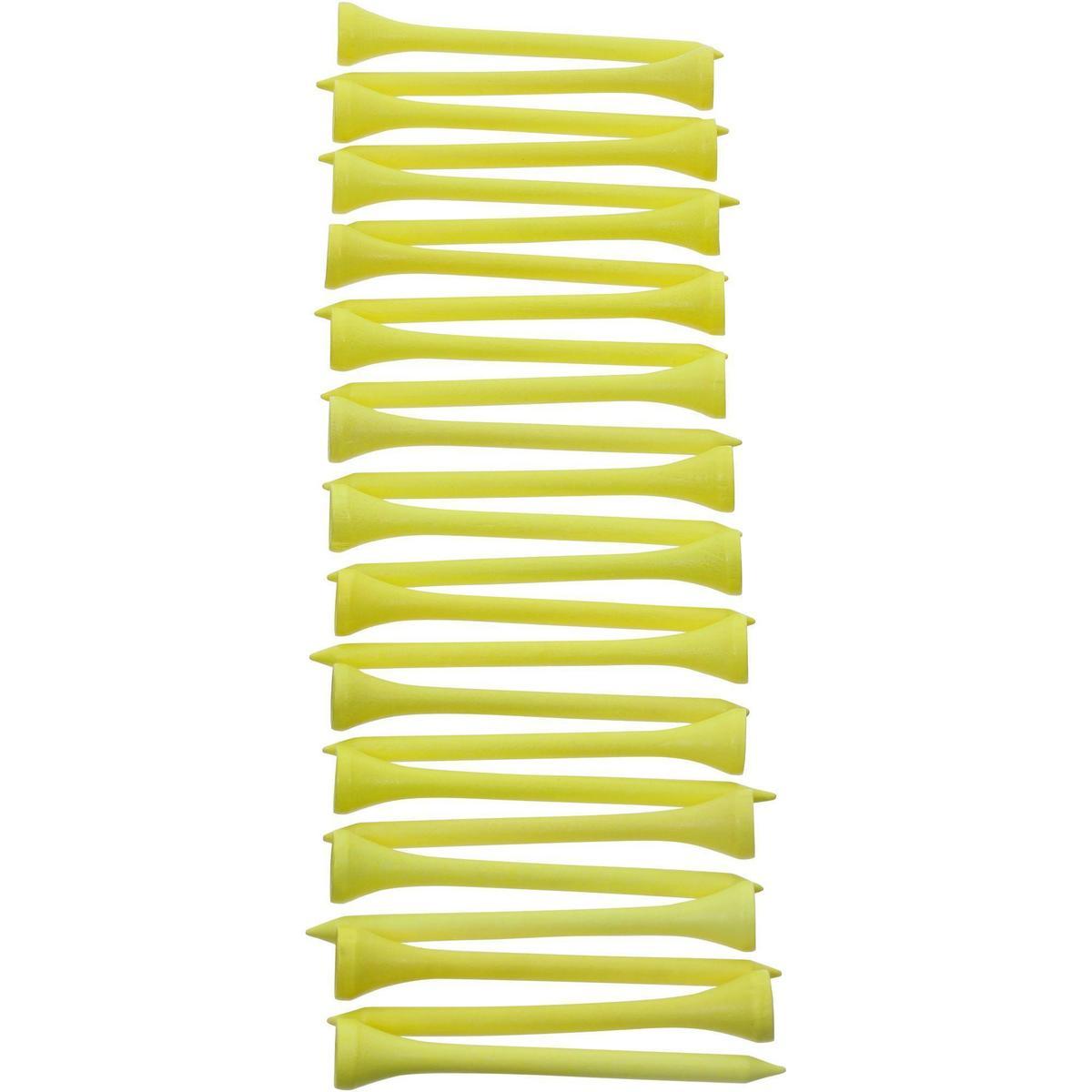 Bild 3 von Golf Holz-Tees 69 mm 25 Stück gelb