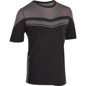 T-Shirt Light 990 Tennisshirt Herren schwarz