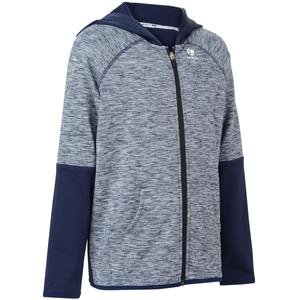 Trainingsjacke warm 500 Kinder marineblau