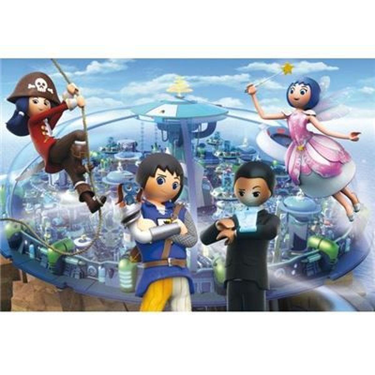 Bild 2 von Schmidt Spiele Playmobil Super 4 - Technopolis, 200 Teile