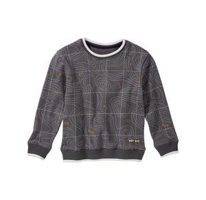 Kids Jungen-Sweatshirt mit verschlungenem Muster