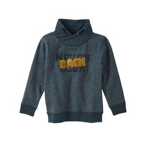 Kids Jungen-Sweatshirt mit kuscheligem Kragen