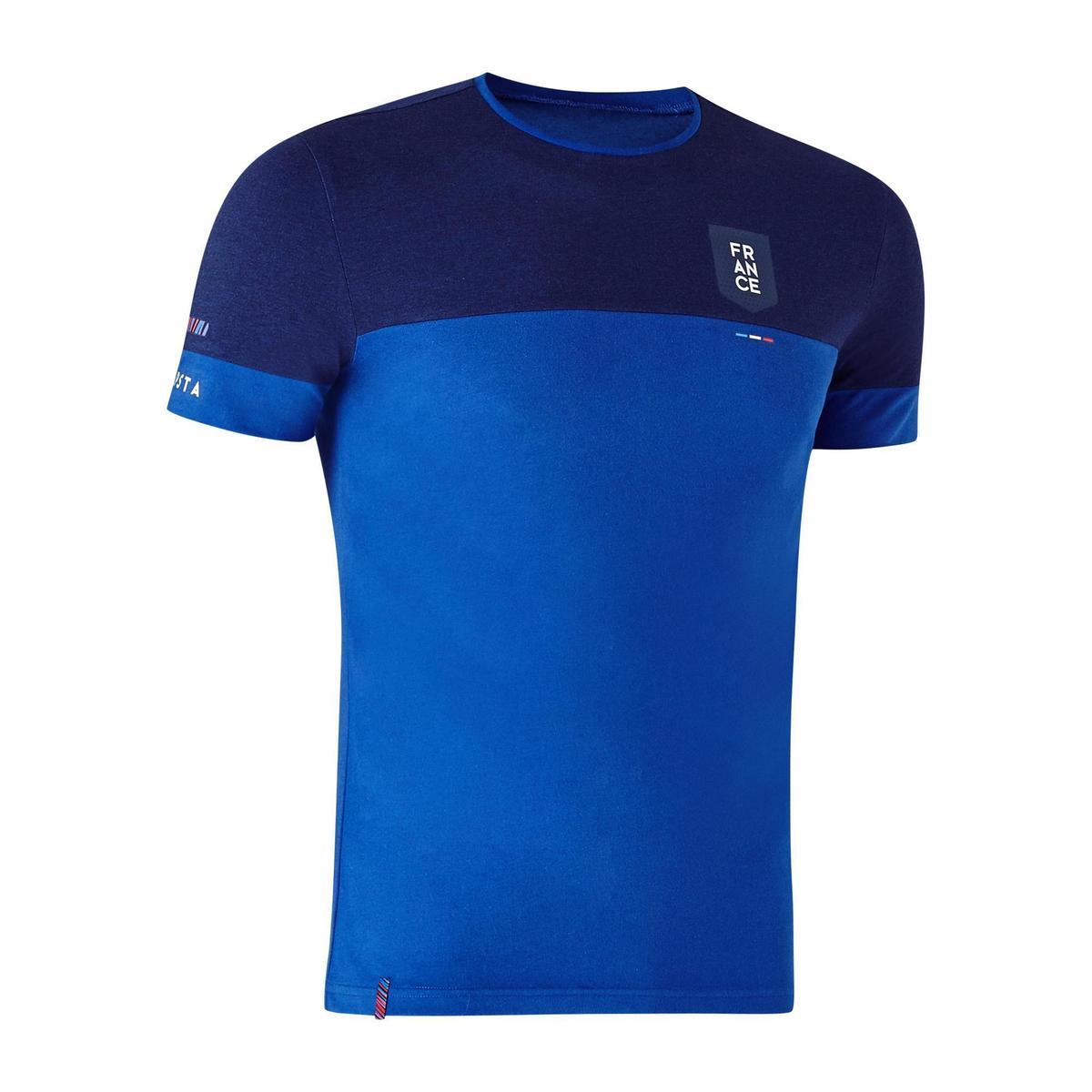 Bild 1 von Fußballshirt FF100 Frankreich Erwachsene blau