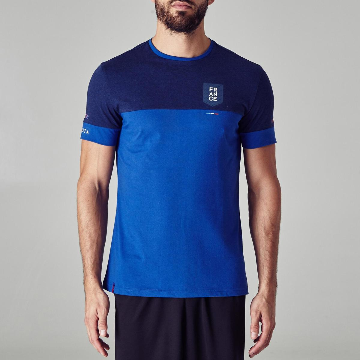Bild 2 von Fußballshirt FF100 Frankreich Erwachsene blau
