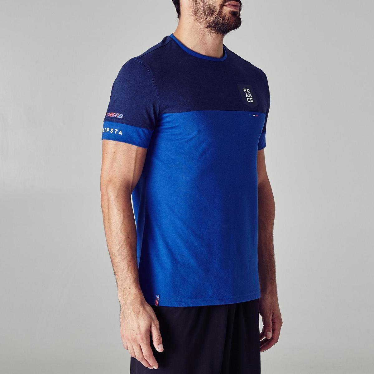 Bild 3 von Fußballshirt FF100 Frankreich Erwachsene blau