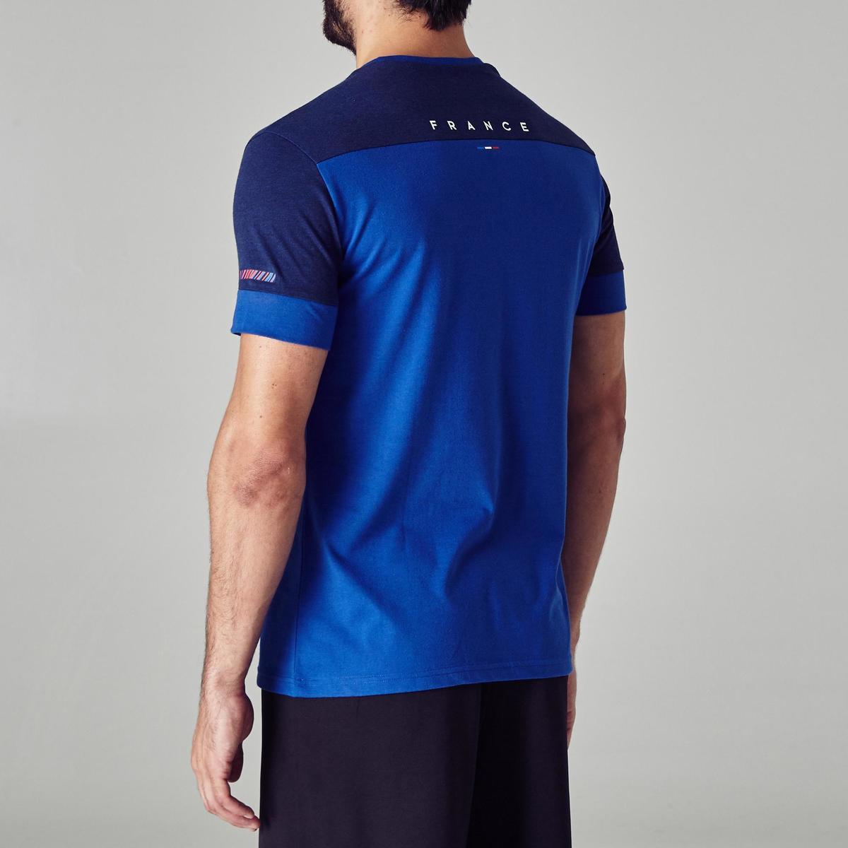 Bild 5 von Fußballshirt FF100 Frankreich Erwachsene blau