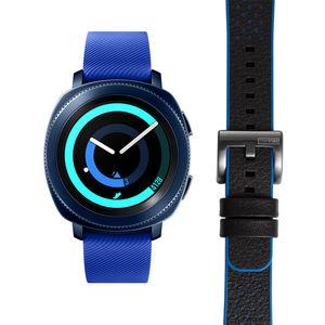 """Samsung Hybrid Smartwatch Gear Sport Blue """"40-34-9584"""" mit zusätzlichem Armband"""