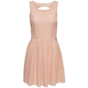 Only Damen Kleid mit Spitze