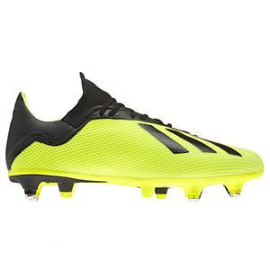 Fußballschuhe Stollen X 18.3 SG Erwachsene gelb