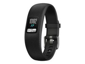 GARMIN vivofit 4 schwarz S/M Fitness-Tracker Batterielaufzeit bis zu 1 Jahr