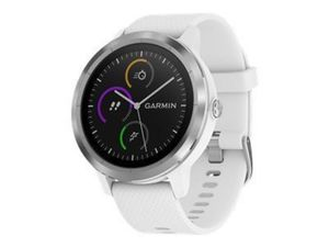 GARMIN vivoactive 3 weiss/silber GPS-Multisport-Smartwatch