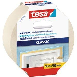 Tesa Maler-Krepp Premium Classic Beige 50 m x 50 mm