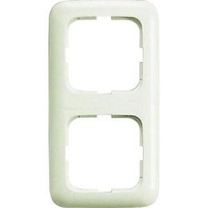 Busch-Jaeger Rahmen 2-fach Duro 2000 SI Weiß