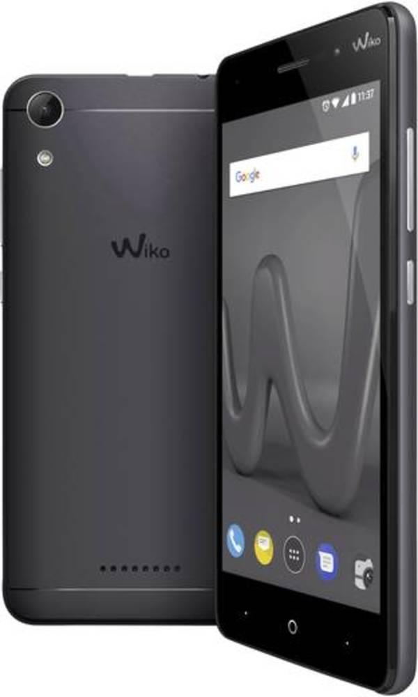 WIKO Lenny 4 Smartphone Dual-SIM 16 GB 12.7 cm (5 Zoll) 8 Mio. Pixel Android™ 7.0 Nougat Schwarz