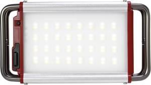 LED Camping-Leuchte Polarlite Claymore Pro M 1000 lm, 30 lm akkubetrieben Rot, Silber CLC-1100