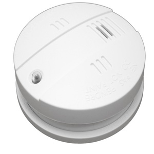 Popp POPE004001 Rauchmelder (Innensirene, Z-Wave Plus, VdS DIN EN14604, 85 dB Sirene, Smart Home)